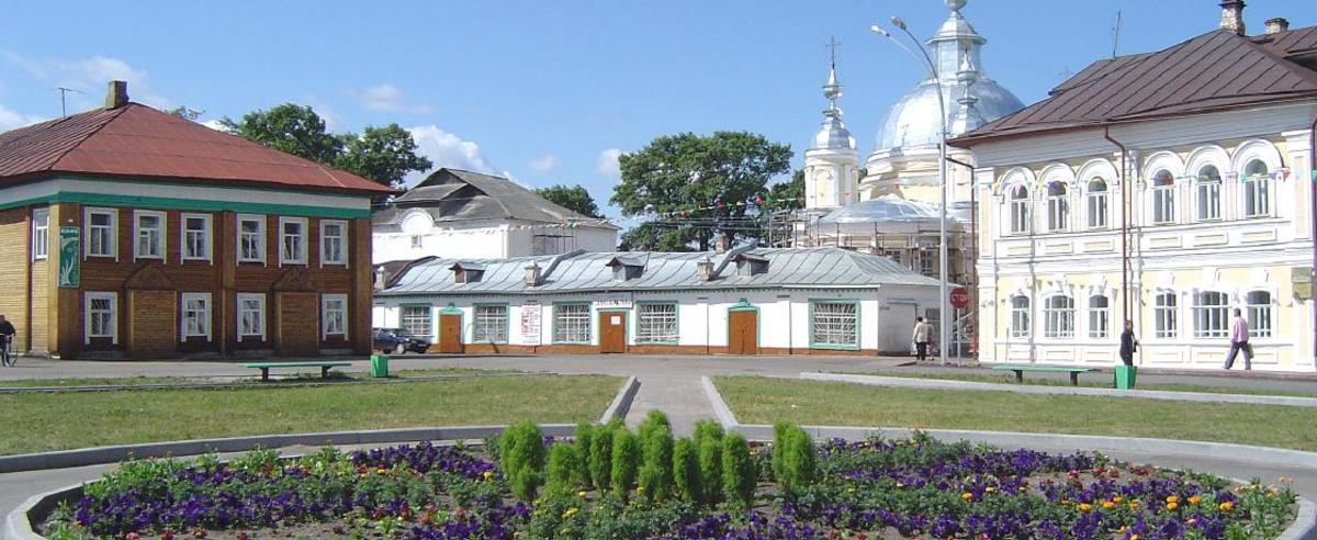 Центр села Устье