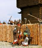 29. Отражение атаки на крепость.