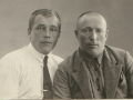 Федор Васильевич  (справа), отец Володи, и брат отца Дмитрий Васильевич .