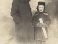 Мама Владимира  Татьяна Петровна Тендрякова и его младший Брат Вадим. ~1935 год. Вожега.