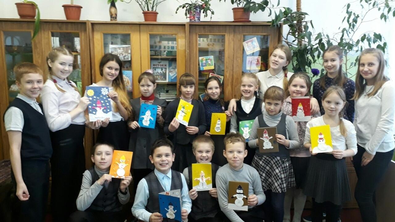 Обучающиеся Ермаковской средней школы Вологодского района